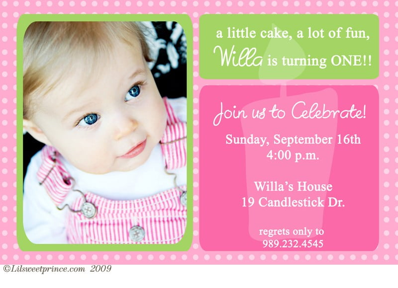 First Birthday Invitations Ideas Bagvania FREE Printable - One year birthday invitation template