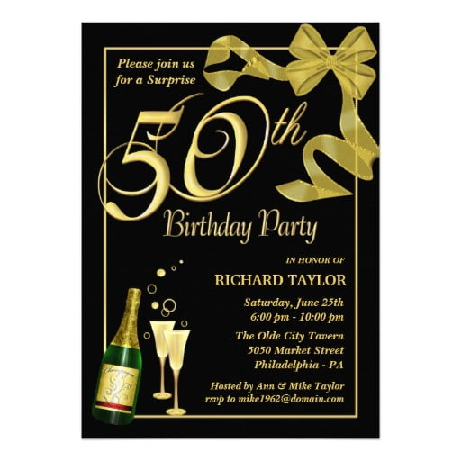 50th birthday invitation templates free printable koni polycode co