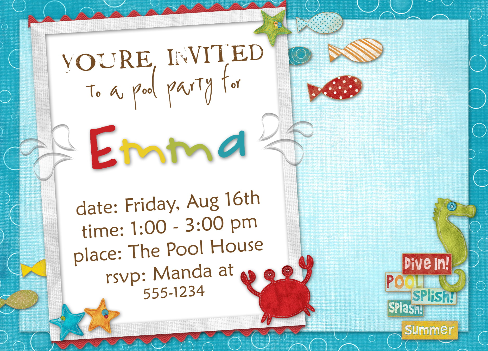 Birthday Invitation Templates Bagvania FREE Printable Invitation