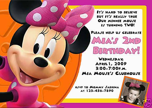 Minnie Mouse Birthday Invitations Ideas Bagvania FREE Printable - Minnie mouse birthday invitation message