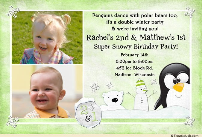 Birthday Invitation Wording For Kids 4th