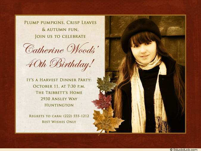 Free Birthday Invitation Wording For Adults