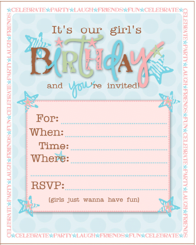 free printable birthday invitations frozen