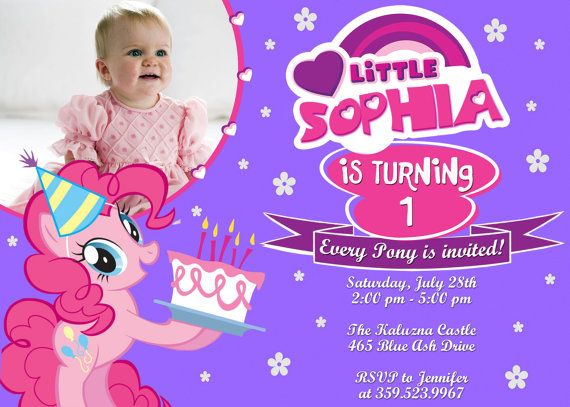 St My Little Pony Bagvania FREE Printable Invitation Template - My little pony birthday party invitation template