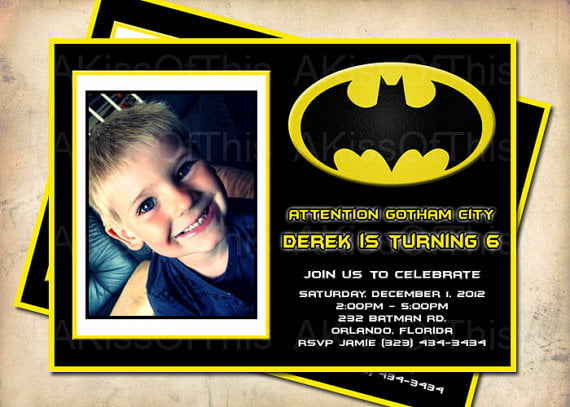 6th Batman Ideas FREE Printable Birthday Invitation Templates Bagvania