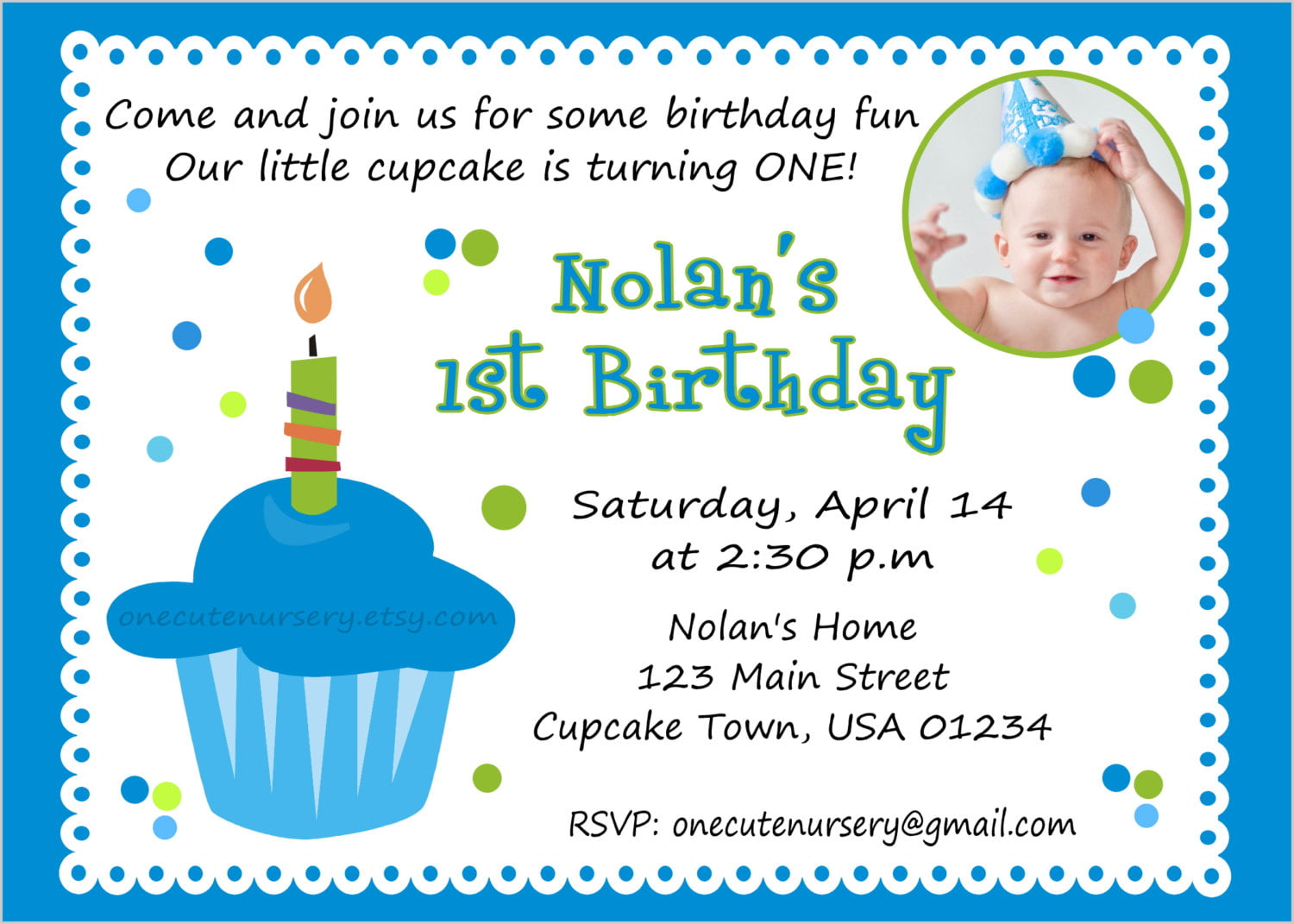 Funny First Birthday Invitation Wording