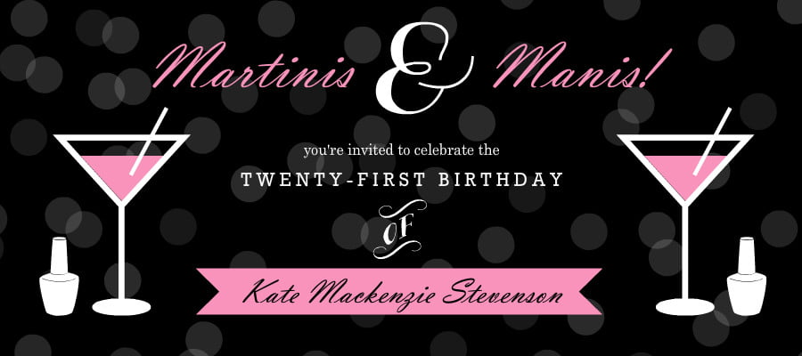 21st Birthday Invitations Ideas Bagvania Free Printable