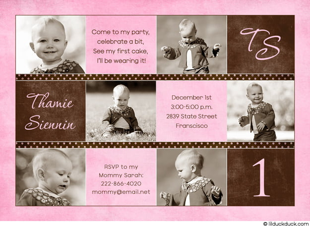 Photography Girl Birthday Invitations