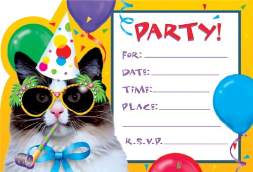 Create Printable Birthday Party Invitations – Bagvania FREE Printable Invitation Template