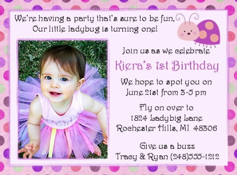 First birthday party invitations ideas bagvania free printable free printable first birthday party invitations stopboris