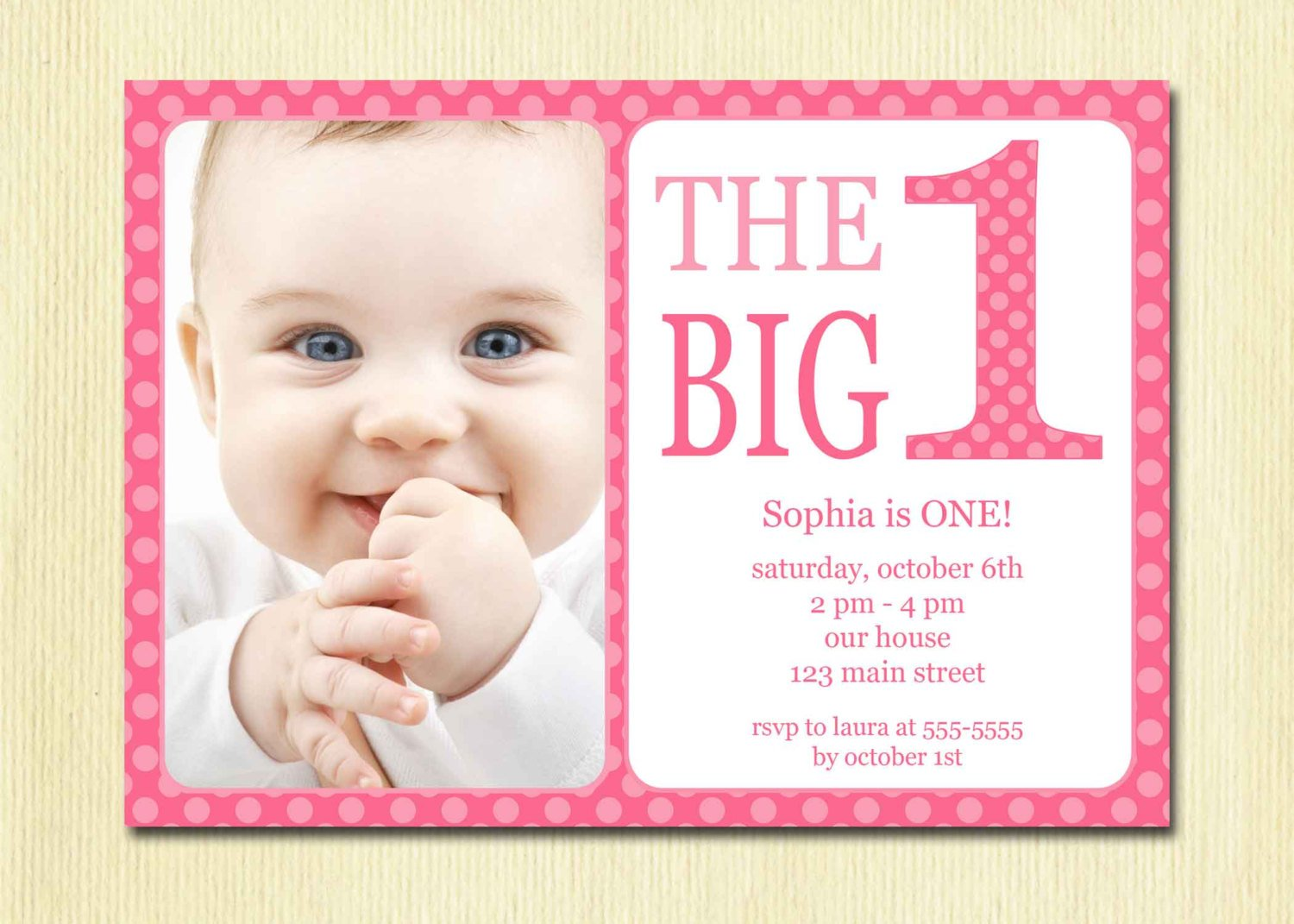 Baby birthday invitation templates stopboris