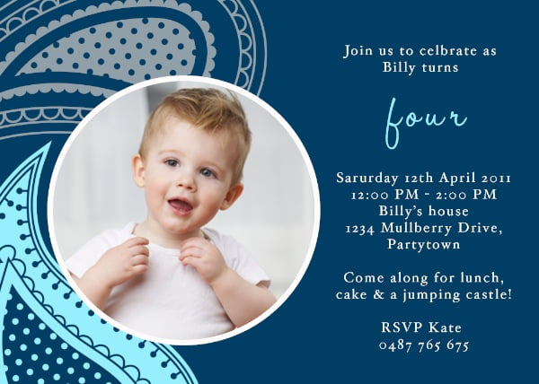 Boys Birthday Invitations Ideas Bagvania FREE Printable