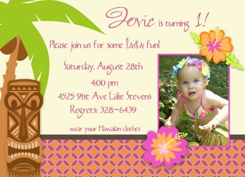 luau birthday invitations ideas  bagvania invitations ideas, Birthday invitations