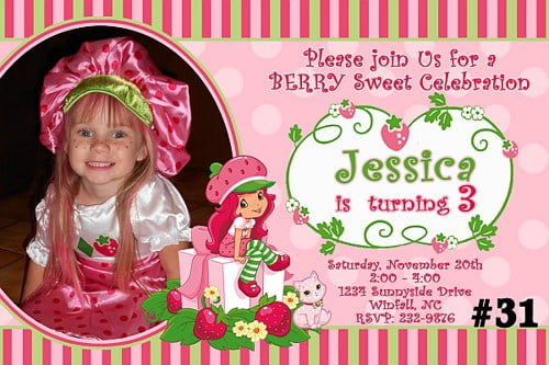 Strawberry shortcake invitation free download orderecigsjuicefo panda birthday invitations ideas bagvania free printable wedding invitations filmwisefo