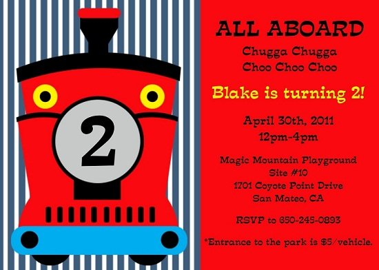 Train Birthday Party Invitations Ideas Bagvania FREE Printable