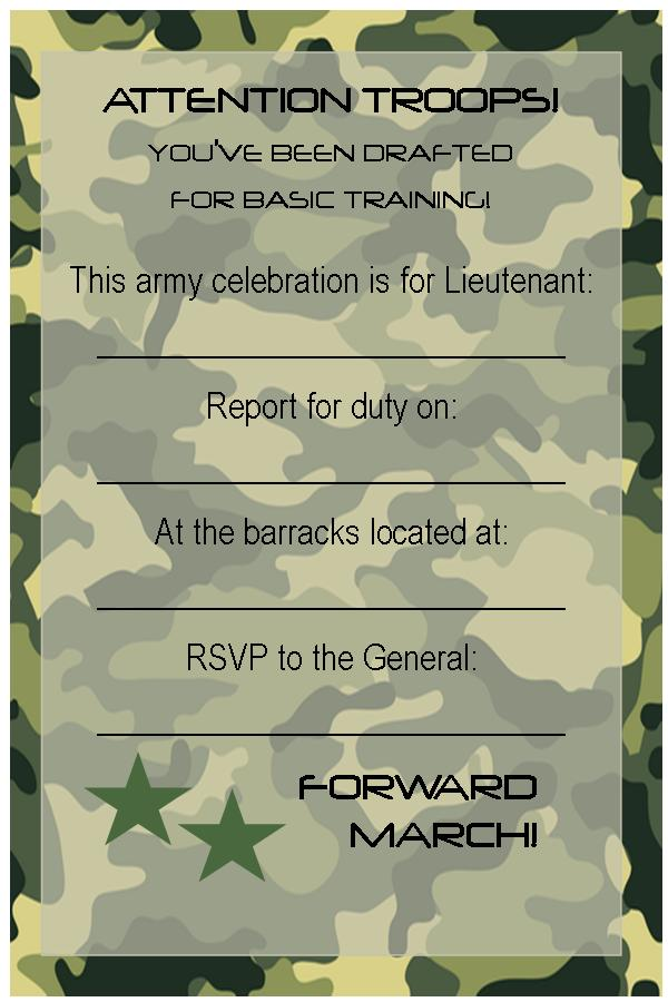army birthday invitations free printable