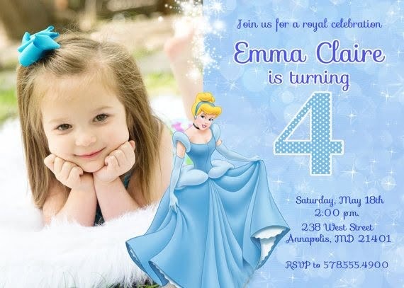 cinderella birthday invitations ideas bagvania free printable