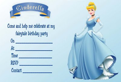 printable cinderella invitations selo l ink co