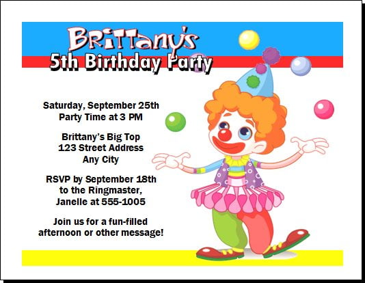 party invitation yourself to save your party budget and create ...