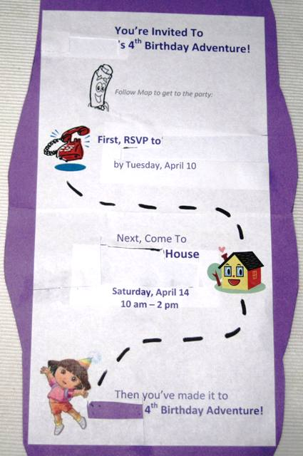 Dora The Explorer Birthday Invitations Ideas – Bagvania ...