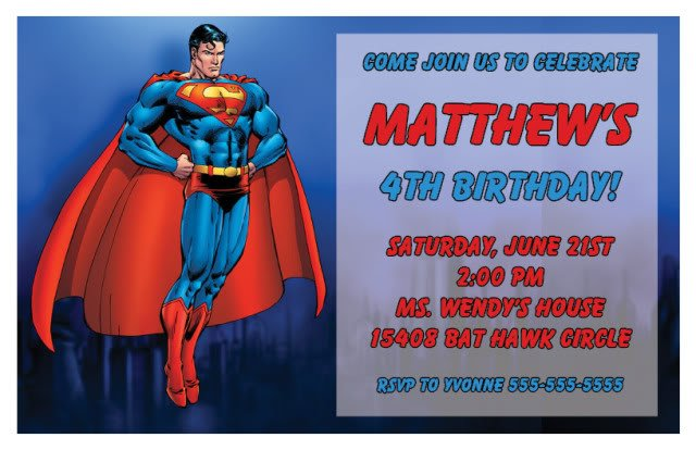 Superman Birthday Invitations Ideas Bagvania FREE Printable - Spiderman birthday invitation maker free
