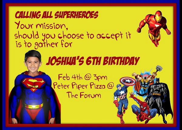 Superman Birthday Invitations Ideas – Bagvania FREE Printable Invitation Template