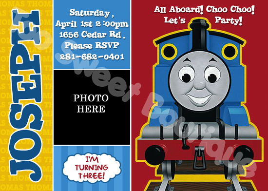 Thomas the train birthday invitations ideas bagvania free thomas birthday invitations printable filmwisefo