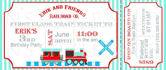 train birthday party invitations ideas – bagvania free printable, Party invitations