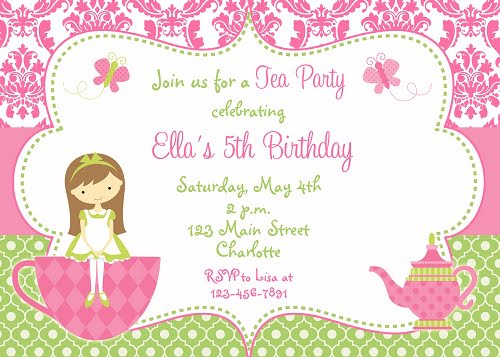 Th Birthday Invitation Wording Ideas Bagvania FREE Printable - Birthday invitation message examples