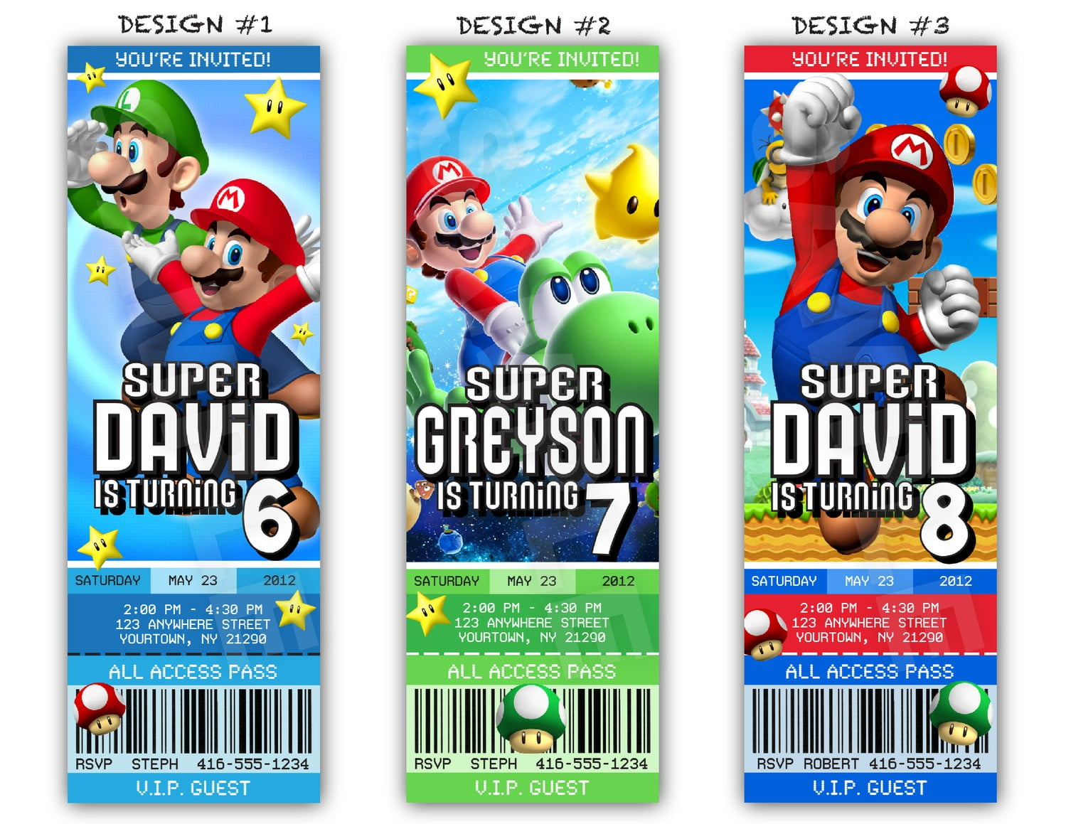 super mario birthday invitations  u2013 bagvania