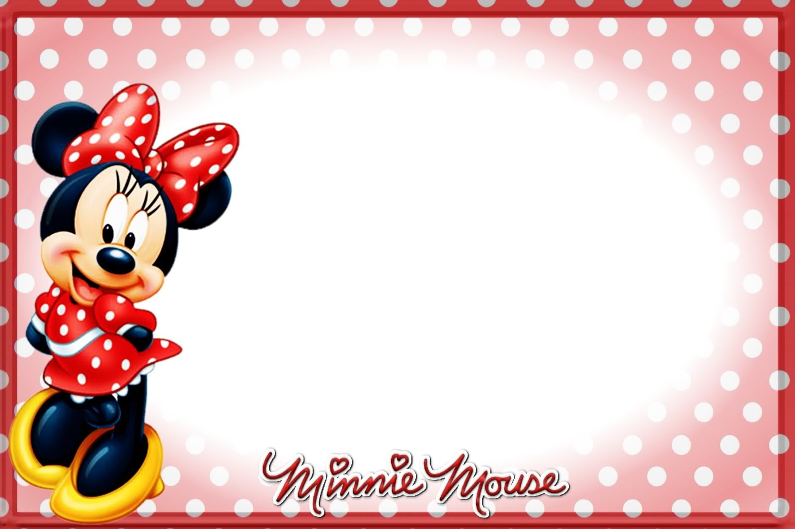 Printable Minnie Mouse Birthday Invitations – Bagvania FREE ...