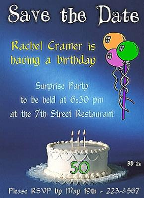 50th Birthday Invitations and 50th Birthday Invitation Wording …