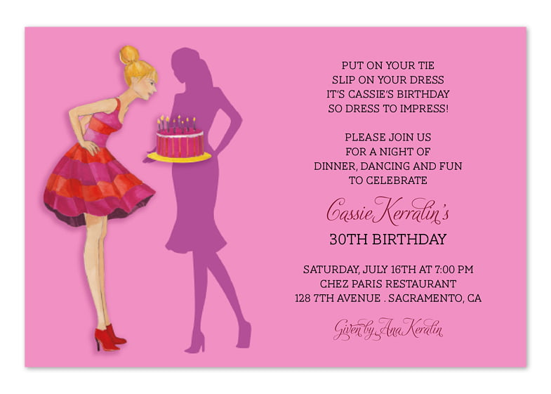 25th birthday invitation wording | BagVania Invitations Ideas