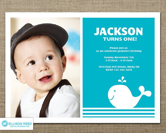 Doc.#600430: 1st Year Birthday Invitation Wordings – First ...