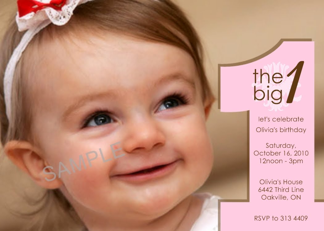 Cheap First Birthday Invitation Template Bagvania FREE Printable – Cheap First Birthday Invitations