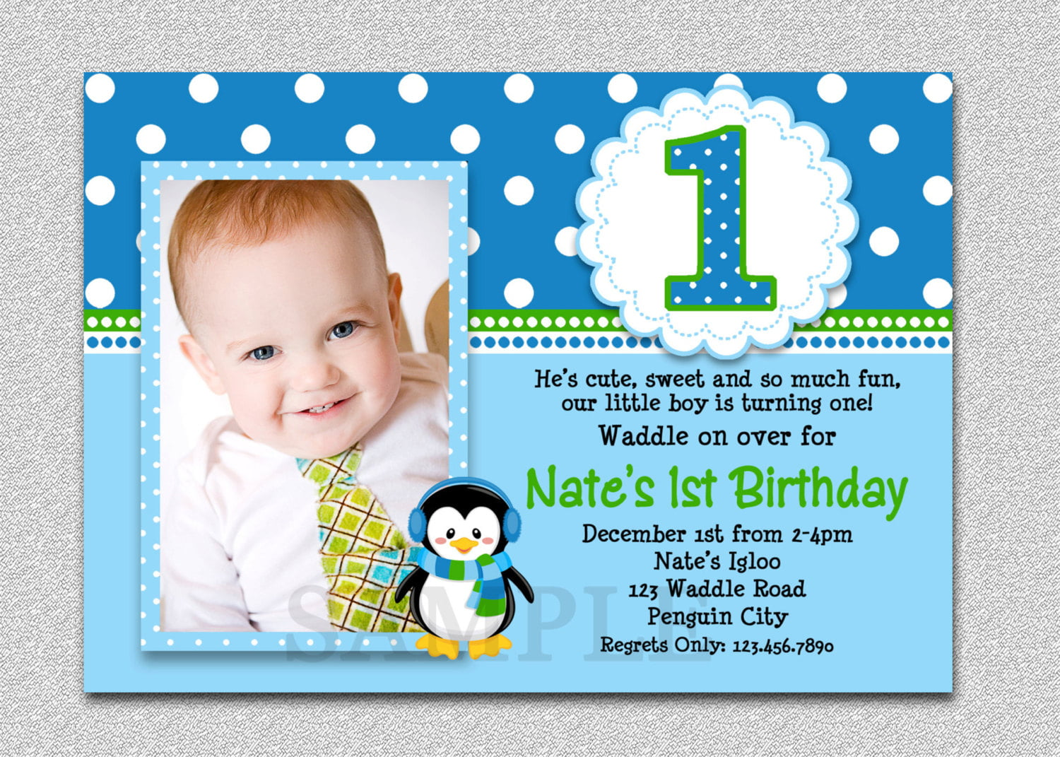 Baby First Birthday Invitations Bagvania FREE Printable - Birthday invitation for one year baby