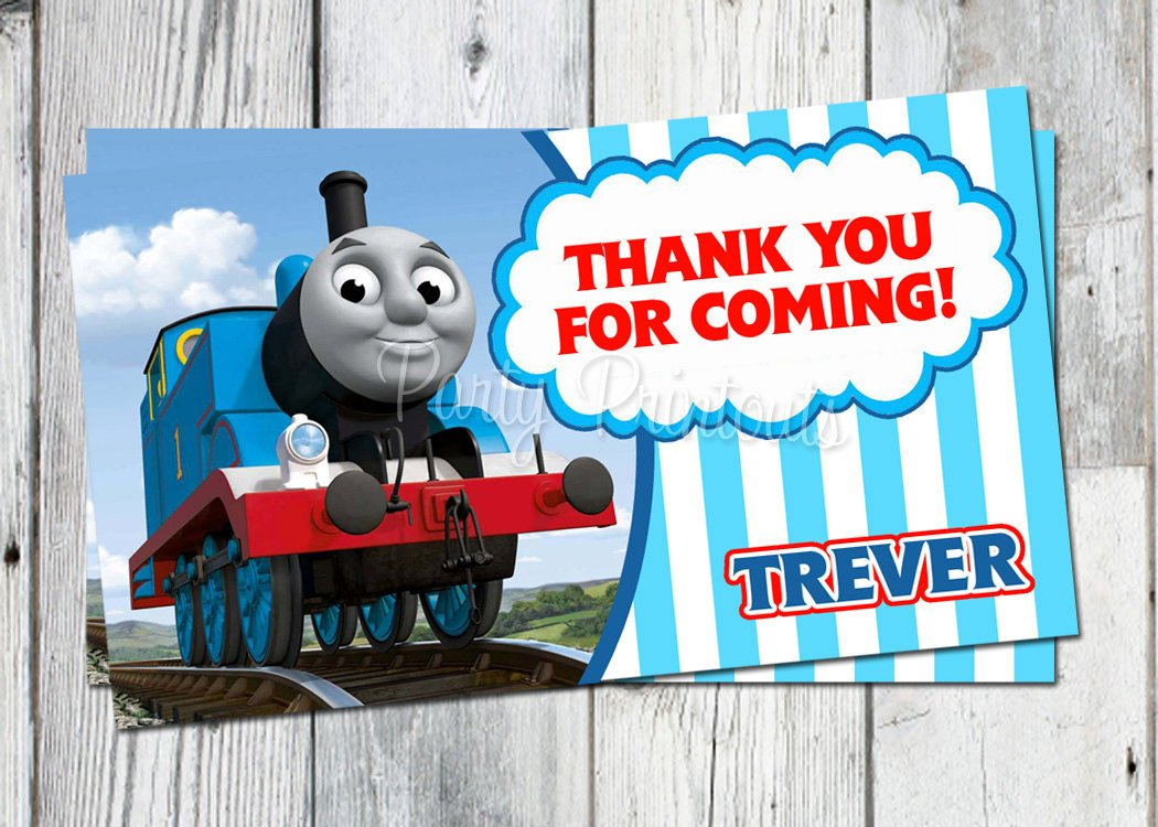 Thomas the train invitations ideas bagvania free printable thomas the train photo birthday invitations blue line thomas the train birthday invitations filmwisefo