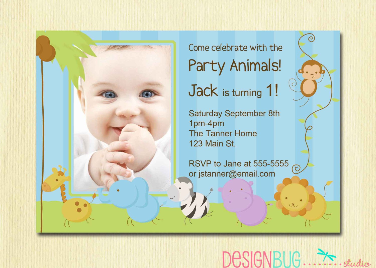Invitation Cards For One Year Birthday Orderecigsjuice Info