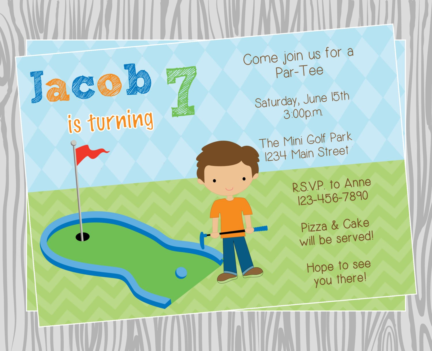 golf themed birthday invitations ideas  u2013 bagvania free
