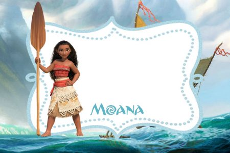 picture about Printable Moana Invitations titled Absolutely free Printable Moana Invitation Template Totally free Printable