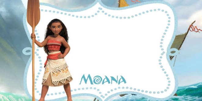FREE Printable Moana Invitation Template – Bagvania FREE Printable Invitation Template