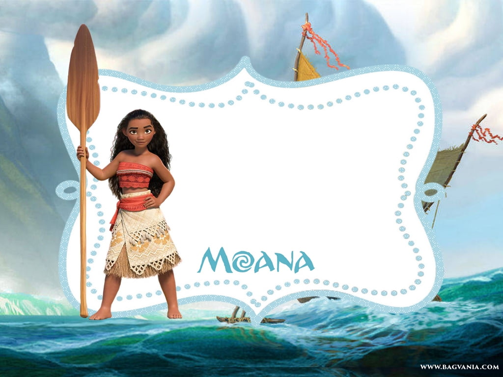 moana invitation template free - free printable moana invitation template bagvania free