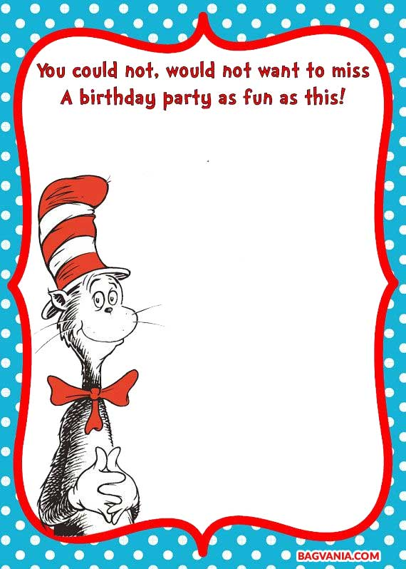 Teenage mutant ninja turtle birthday party invitations for Dr seuss birthday card template