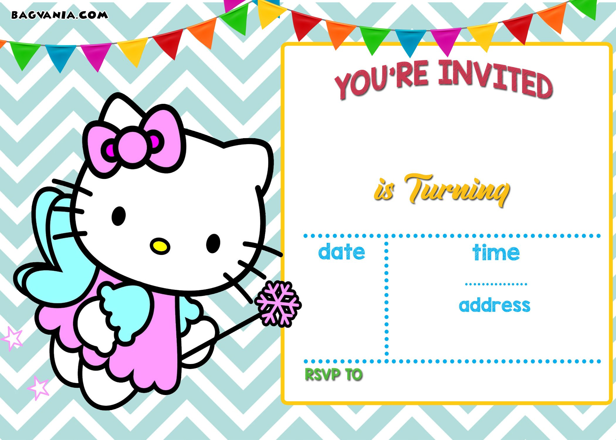 FREE-Printable-Fairy-Theme-Hello-Kitty-Chevron-Template