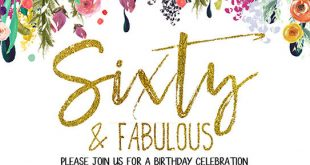 FREE-Printable-Flower-60th-Birthday-Invitation-Template