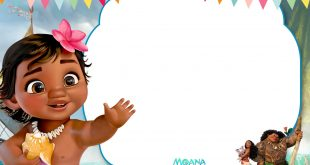 FREE-Printable-Little-Moana-1st-Birthday-Invitation