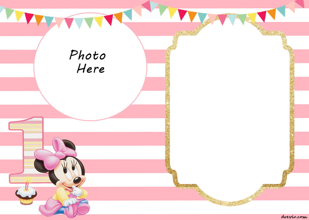 Free Printable Minnie Mouse Birthday Invitations ...