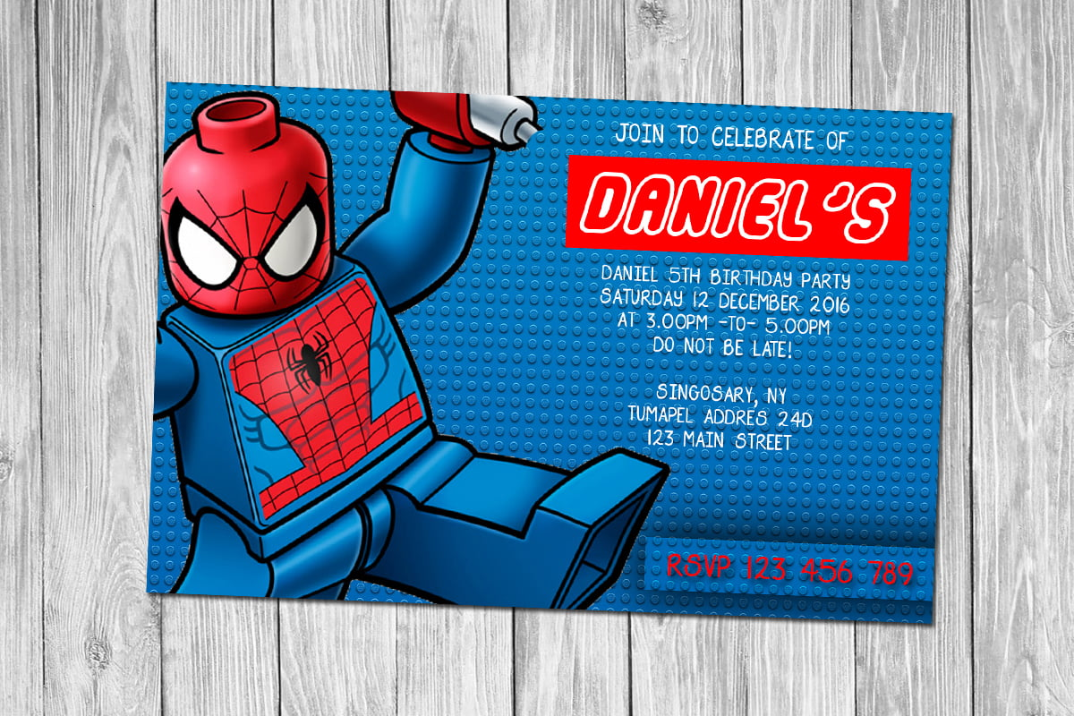 Lego Birthday Party Invitations Printable Choice Image – Lego Party Invitations Printable