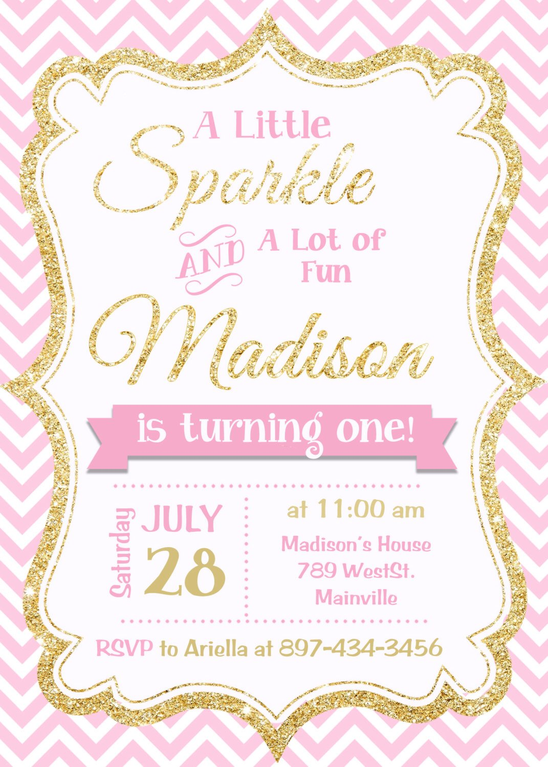 Free Printable Girl Birthday Invitations – Bagvania FREE Printable ...