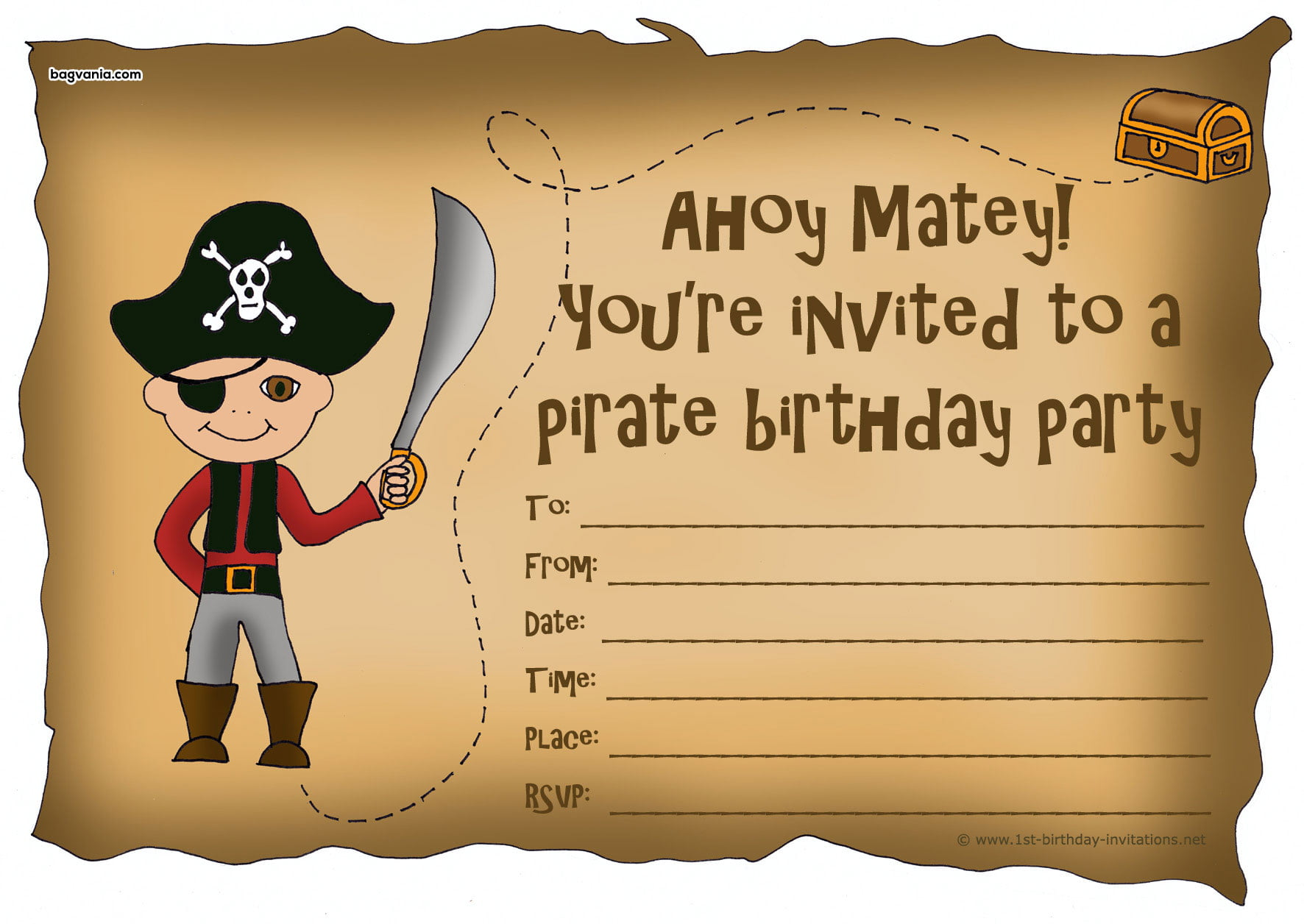 Home Design Layout Templates Pirates Birthday Invitations Bagvania Free Printable